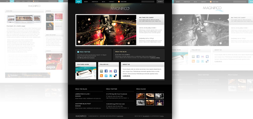 magnifico-html-themes