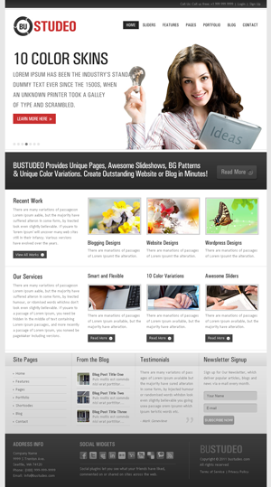 BUSTUDEO site template
