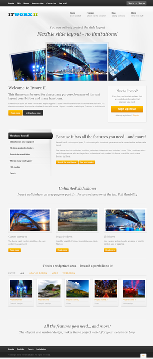 ITWORX II wordpress themes