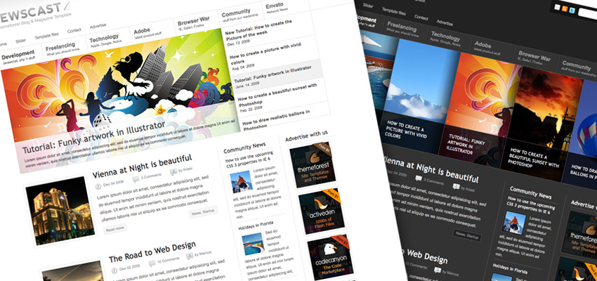 NCWPTE wordpress themes