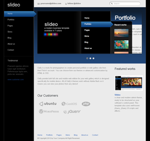 Slideo html template