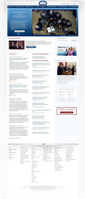 WhiteHouse wordpress theme