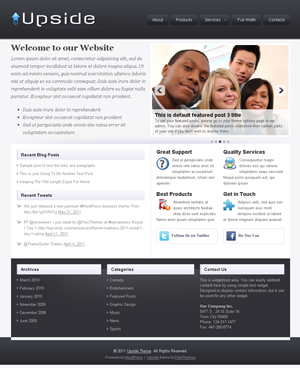 Upside wordpress Theme