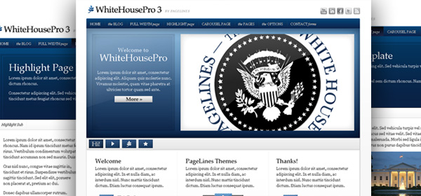 WhiteHouse Pro wordpress Premium Theme