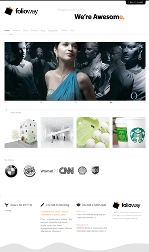 folioway wordpress themes