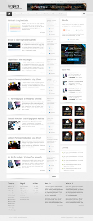 tutsplaza wordpress themes