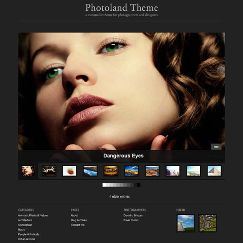 Photoland Premium WordPress Theme