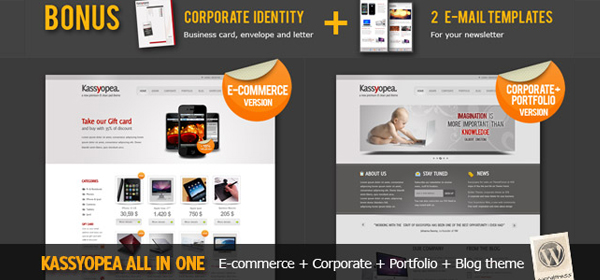 Kassyopea Ecommerce & Corporate wordpress theme