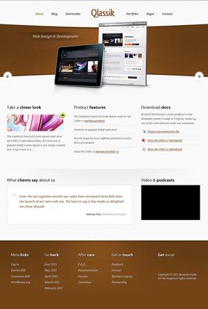 Qlassik Premium WordPress Theme