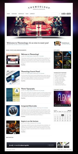 Themeology Portfolio and Blog Theme