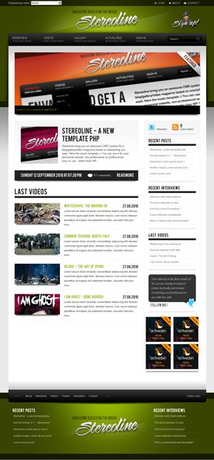 stereoline magazin wordpress theme