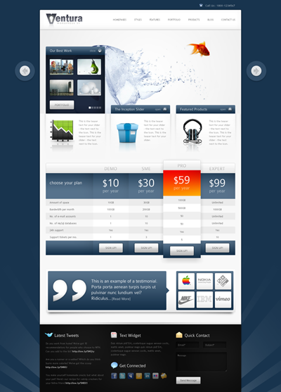 Ventura - WordPress Corporate / Business Theme