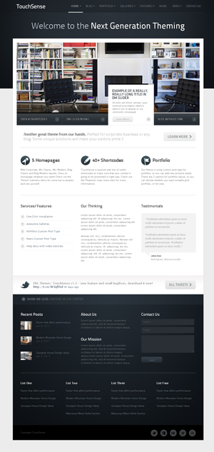 TouchSense Multipurpose WordPress Theme