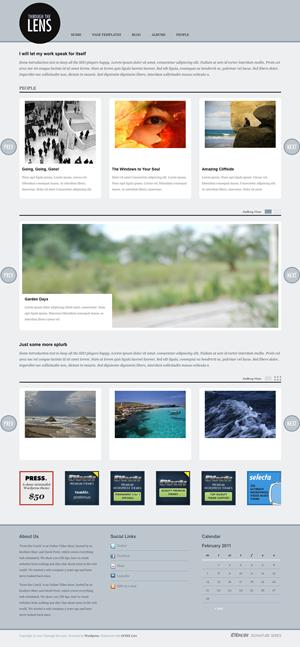 Through the Lens WordPress theme