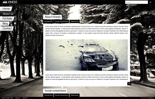 KINESIS WordPress theme