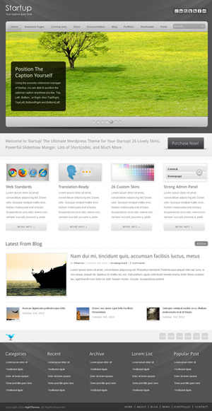 Startup Ultimate WP CMS