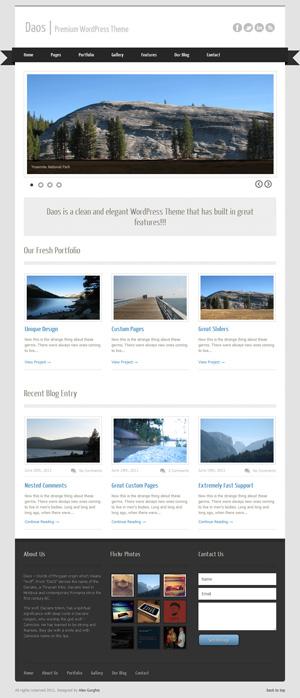 Daos WordPress Theme