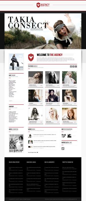 agency joomla template