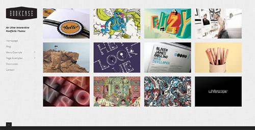 Bookcase WordPress Portfolio Theme