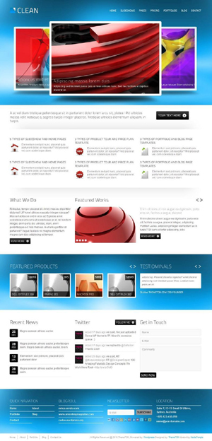 CLEAN Corporate theme