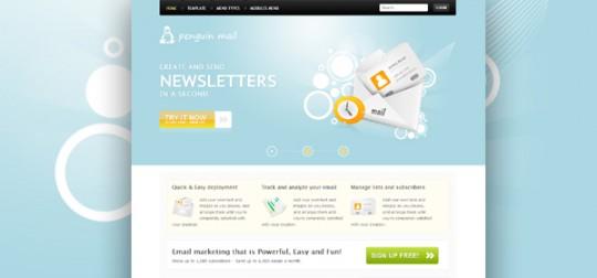 艾迪/Joomla 1.7模板:GK PenguinMail 邮件营销模版 [更新至2.2]