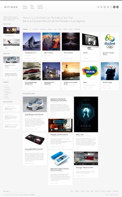 Airlock WordPress Theme