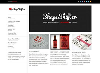 ShapeShifter 2 wp theme