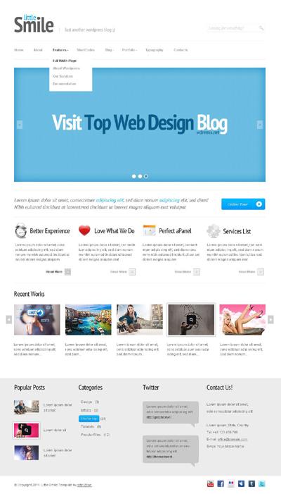 Little Smile Multipurpose WordPress Theme
