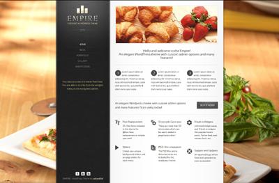 EMPIRE - Elegant WordPress Theme