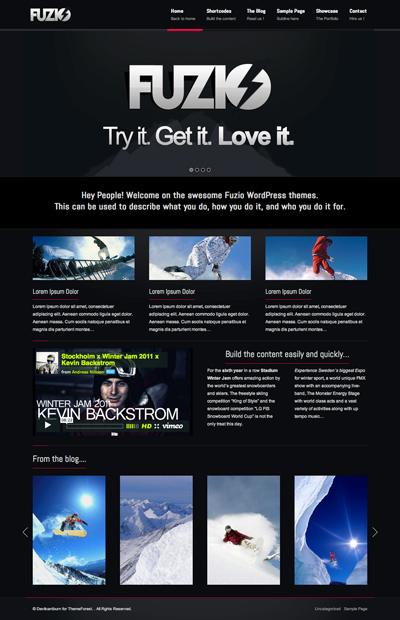 Fuzio Agency Business WordPress Theme