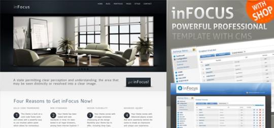 inFocus - Powerful Professional Template