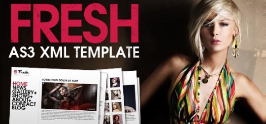 Fresh XML Template
