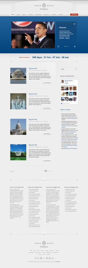 WordPress Politico theme