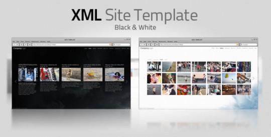 XML Template V7 ( White & Black )