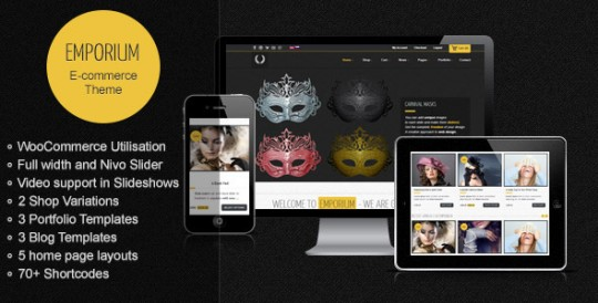 Emporium - Responsive WordPress WooCommerce Theme