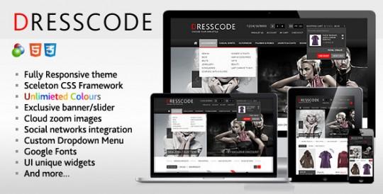 Dresscode - Responsive osCommerce Theme
