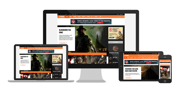 JA Playmag - July Responsive Joomla template for Game Magazines