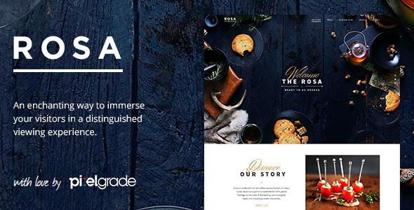 ROSA - An Exquisite Restaurant WordPress Theme