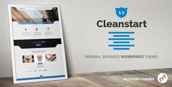 CLEANSTART Clean Multipurpose Business Theme