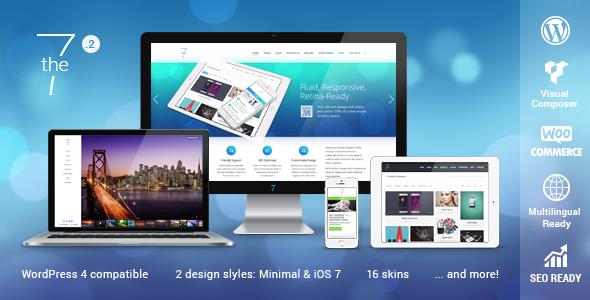 The7 Responsive Multi-Purpose WordPress Theme