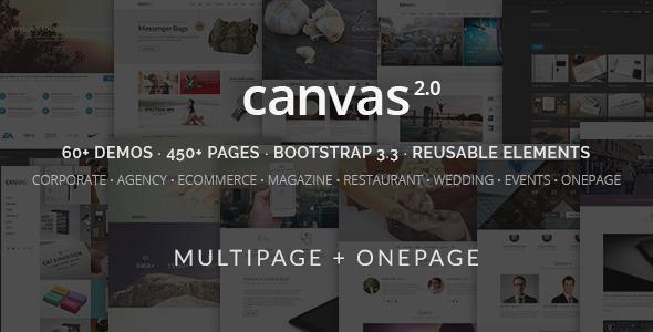 Canvas The Multi-Purpose HTML5 Template
