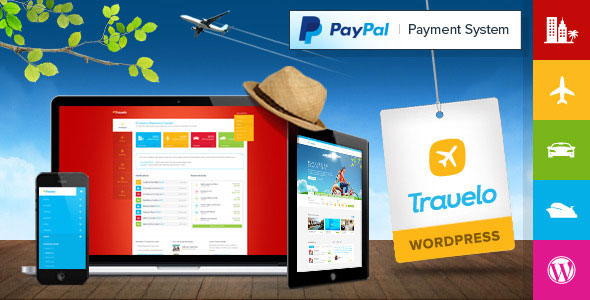 Travelo v1.5.6 - Travel Tour Booking Wordpress Theme