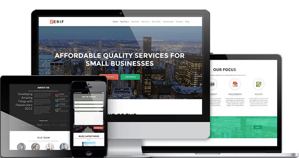 Zerif Pro - Business WordPress Theme