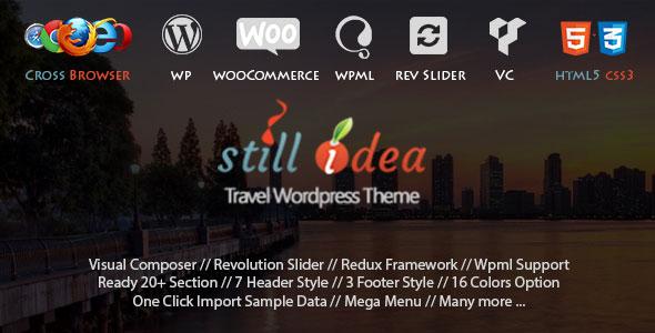 Stillidea v1.3 - Travel Tour Multipurpose WP Theme