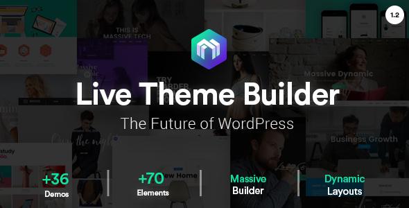 Massive Dynamic v1.2.1 - WordPress Website Builder