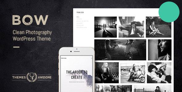 BOW V1.8 - CLEAN PHOTOGRAPHY PORTFOLIO THEME