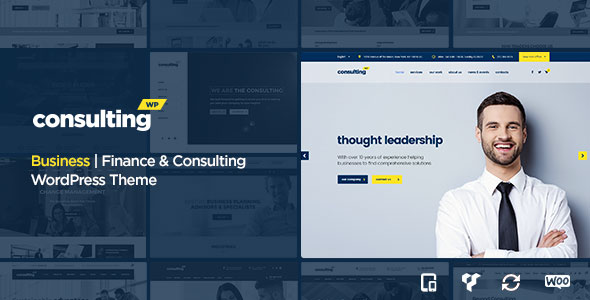 CONSULTING V3.3 - BUSINESS, FINANCE WORDPRESS THEME