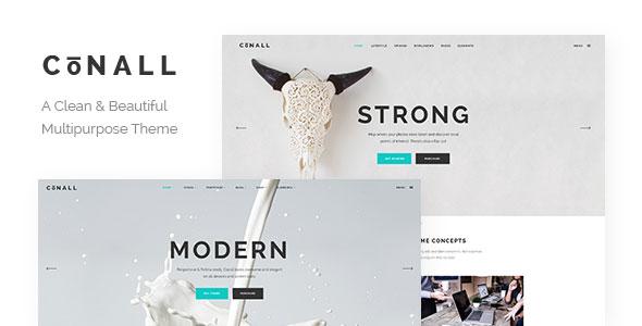 Conall v1.2.1 - A Clean & Beautiful Multipurpose Theme