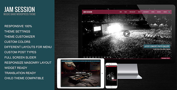 JamSession v4.6.8 - Music & Music Band WordPress Theme