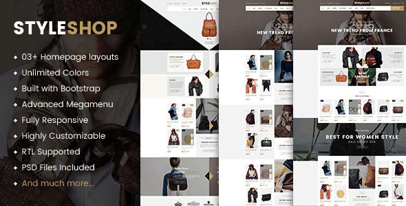 Styleshop - Premium Responsive Prestashop Theme